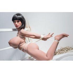 Real doll aux énormes seins en TPE - Leila - 148 cm