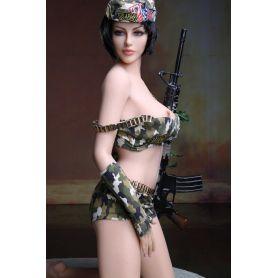 Silicon doll en TPE Platinium - Vanessa - 165 cm