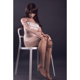 Real doll réaliste en Silicone- Cathy -153 cm
