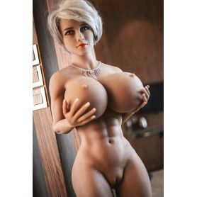 Latex doll musclée en TPE JY DOLL- Ioulia - 150 cm