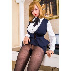 La secrétaire désinhibée en Silicone TPE - Keyla -170 cm