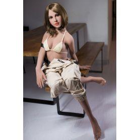 Sextoy latex doll hyper réaliste - Morayma -156 cm