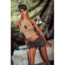 Femme armée en TPE - Pilly -166 cm Bonnet C