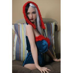Torso Masturbateur Latex doll - Elody - Très forte poitrine