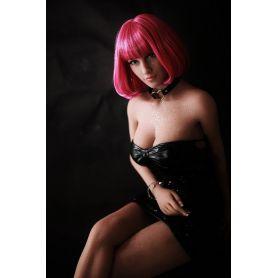 Femme mystérieuse en silicone - Gwendoline - 150 cm