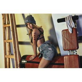 Femme métisse freestyle en Silicone TPE - IRONTECHDOLL - Miki - 163 cm
