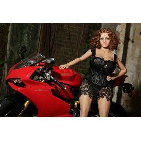 La motocycliste sensuelle en TPE- Gloria - 155cm