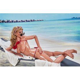 Fille coquine en bikini sur la plage - IRONTECHDOLL - Cecelia - 163 cm