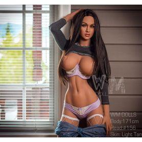 Femme érotique en Silicone à forte poitrine - WMDOLLS - Leila -171 cm