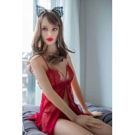 Mannequin de lingerie érotique en Silicone TPE - Catie - 165 cm - Bonnet B