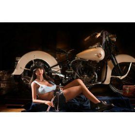 Femme métisse hyper réaliste en Silicone TPE- YOURDOLL -Lorenna -157 cm