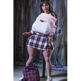 Mini Fat doll Hyper réaliste en Silicone - YOURDOLL - Sherzy -146 cm - Forte Poitrine