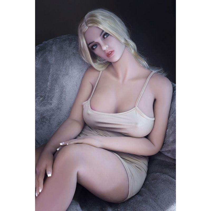 La Blonde Platine en Silicone TPE - Tamara - HR DOLL - 160 cm - Bonnet C