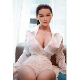 Love doll en TPE et visage en Silicone pour adulte - JY DOLL- Lanxin - 164 cm
