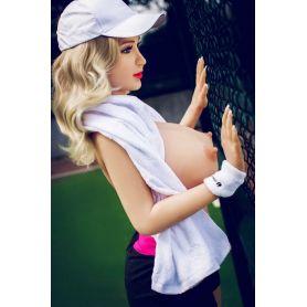 Femme avec rondeurs en Silicone TPE - Cloris - 160cm
