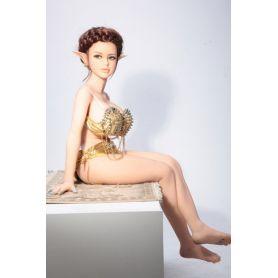 Mini poupée elfique en Silicone TPE - Christy - 130 cm