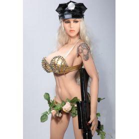 Guerrière sensuelle en Silicone TPE - Chaterine - 150 cm