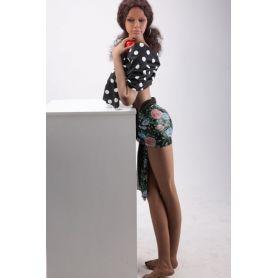Love doll exotique en Silicone TPE - Lorena - 158 cm