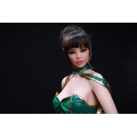 Love doll aux oreilles d'elfe Silicone TPE - Crystal - 158 cm