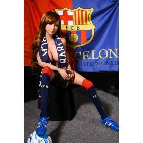 La footballeuse en TPE - Cluny - 158 cm