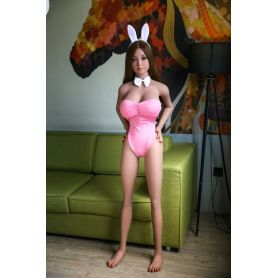 Love doll réaliste en TPE - Hymen - 158 cm