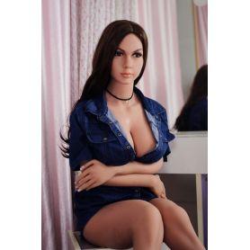Poupée sexuelle en Silicone/TPE- Esmeralda-165 cm