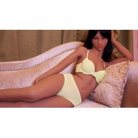 Sexy doll metisse en TPE - Gilly - 165 cm