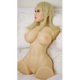 Torso masturbateur en TPE - Sarah - 80 cm