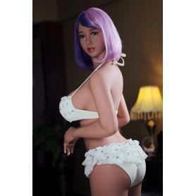 Latex doll en silicone TPE - Violet - 168 cm